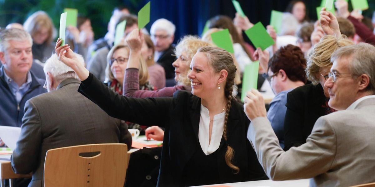 Les Verts comptent sur 8 sièges de députés et un nouveau mandat au sein du gouvernement après les élections d'octobre