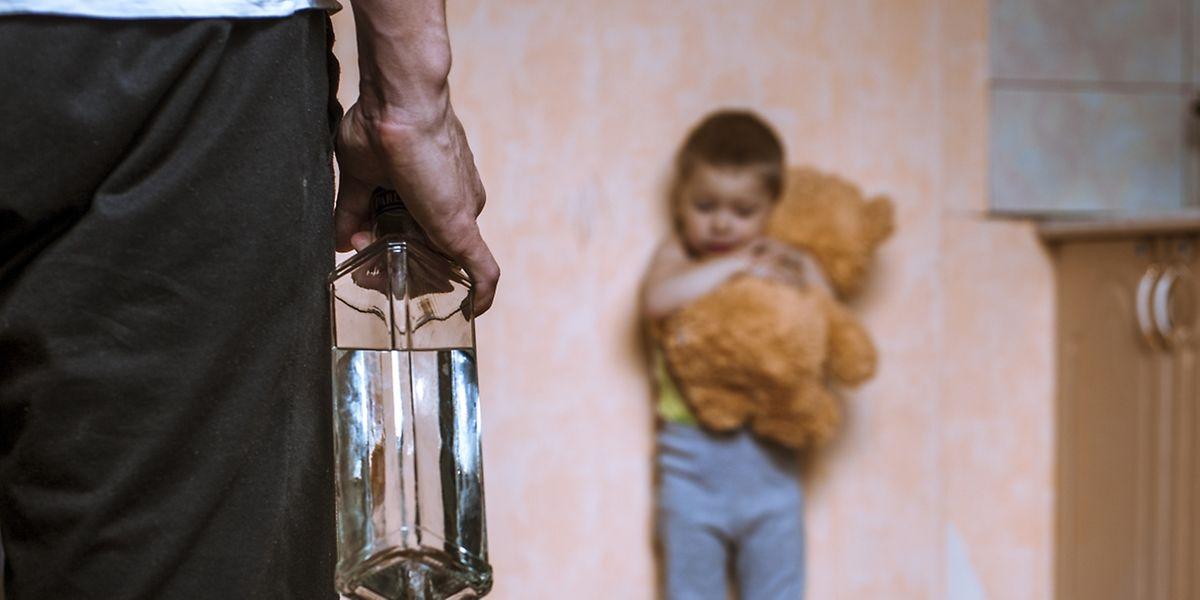 2013 wurden 478 Kinder in Luxemburg direkt oder indirekt Opfer häuslicher Gewalt.
