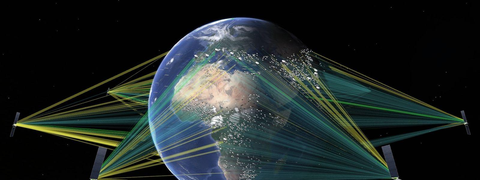 L'orbite moyenne est celle qui offre le meilleur compromis entre la latence et la couverture géographique. Avec la future génération de satellites de chez Boeing, la SES va forcément prendre de l'avance sur ses concurrents et sur les géants du net.
