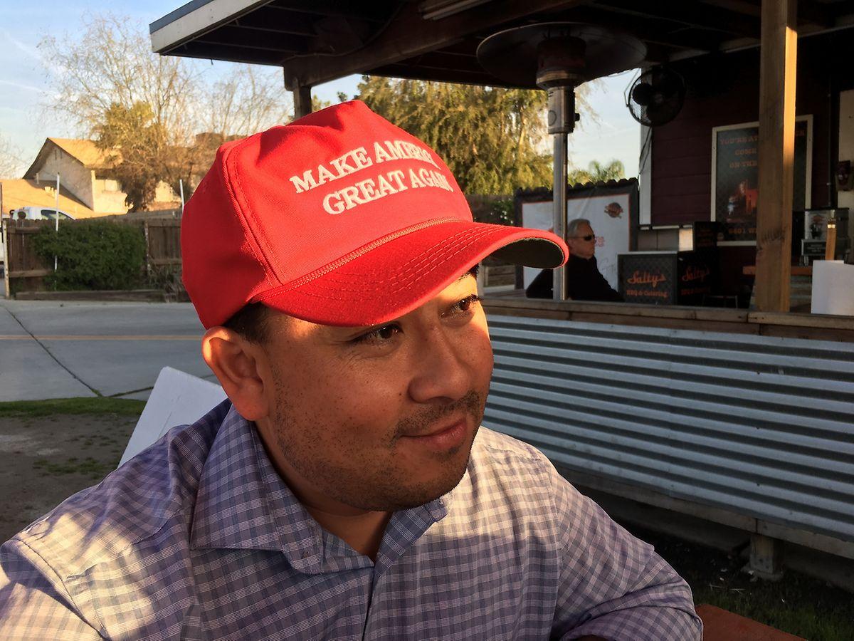Javier Reyes ist es satt, von den Eliten in Washington ignoriert zu werden.
