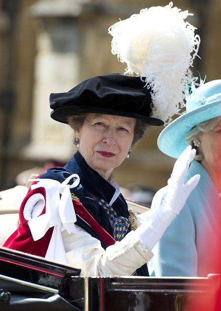 """Prinzessin Anne, Tochter von Königin Elizabeth und Prinz Philip, Schwester von Prinz Charles, soll laut Informationen von """"L'Essentiel"""" der Trauerfeier in Luxemburg beiwohnen."""