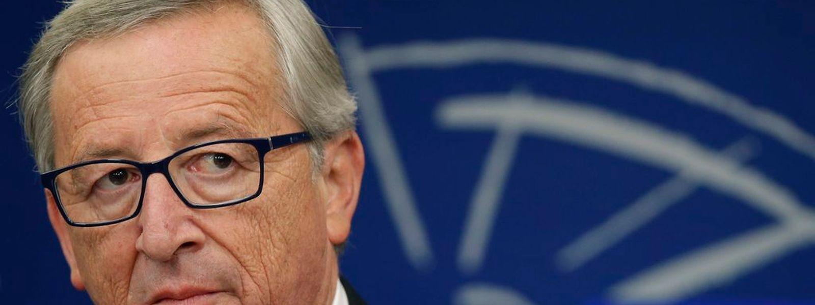 Jean-Claude Juncker à Strasbourg, le 22 octobre 2014