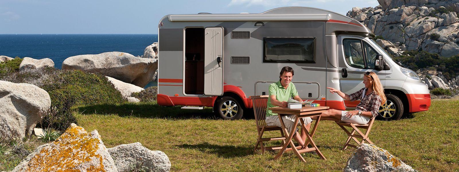 Urlaub mit einem Wohnmobil oder Wohnwagen ist eine der besten Möglichkeiten, Abstand zu halten.