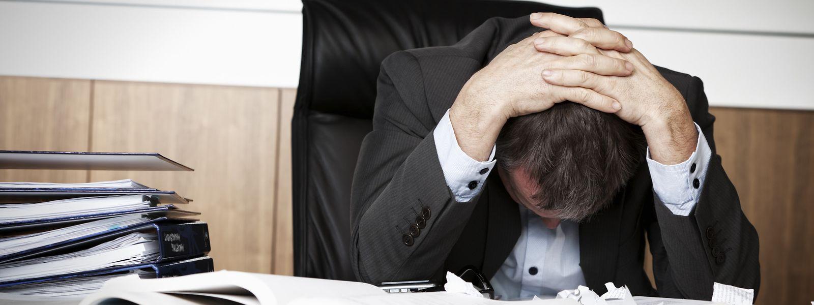 Pour les deux parties, il y a urgence à trouver un accord: un salarié sur trois présente un risque de dépression au Luxembourg.