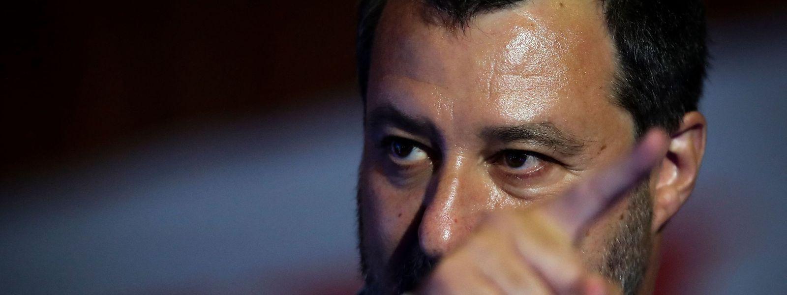 Matteo Salvini plant, seine Partei mit der Forza Italia von Silvio Berlusconi zu vereinen.