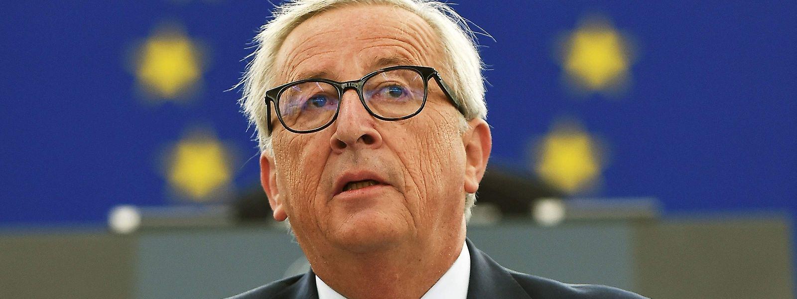 Noch-Kommissionschef Jean-Claude Juncker. Sein aktueller Posten ist heiß begehrt.