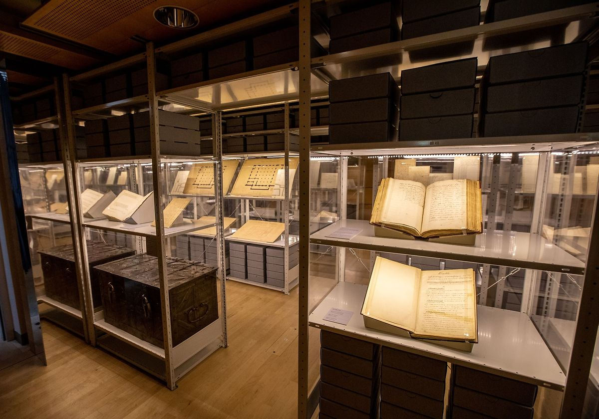 Luxembourg's National Archives date back to the year 1244 Photo: Guy Jallay