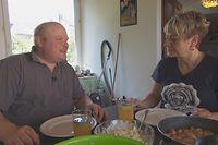 Schon bei der ersten gemeinsamen Mahlzeit kam es zu Unstimmigkeiten zwischen Guy und Kathrin.