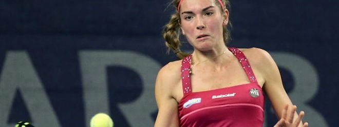 Eléonora Molinaro s'est inclinée en deux sets au premier tour du tournoi ITF de Dijon (15.000 dollars), ce mardi