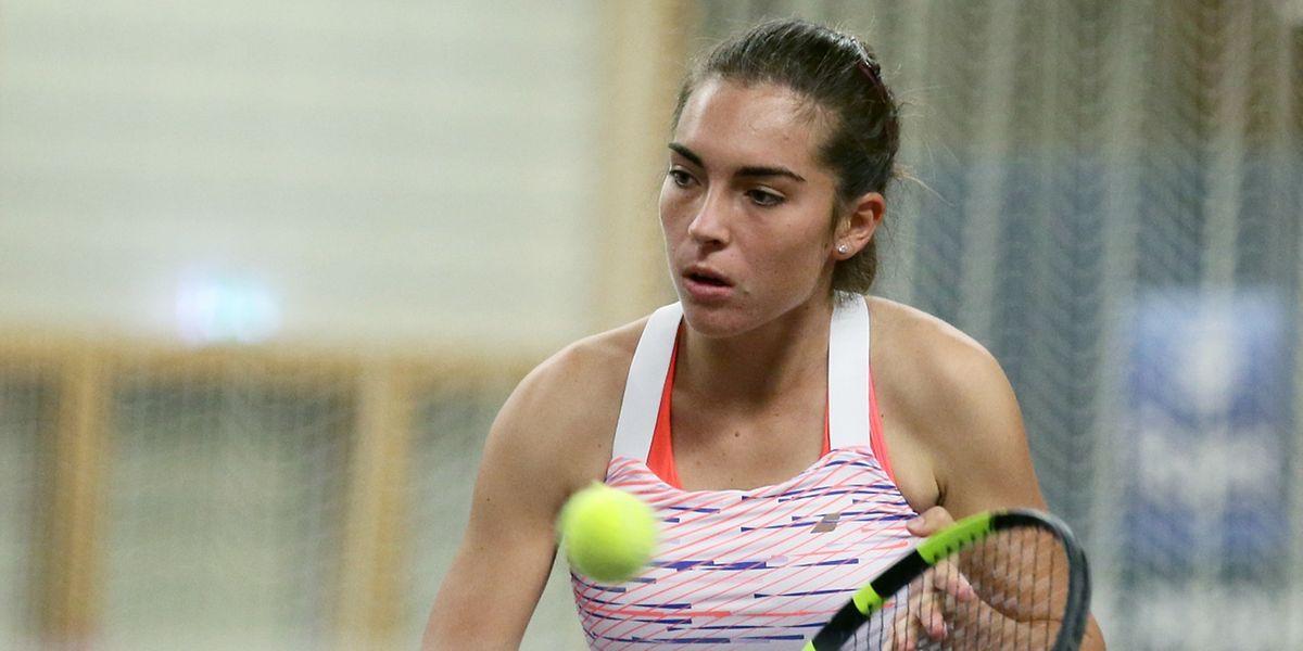 Eleonora Molinaro n'a jamais tremblé pour assurer sa qualification pour les quarts de finale du tournoi pétangeois.