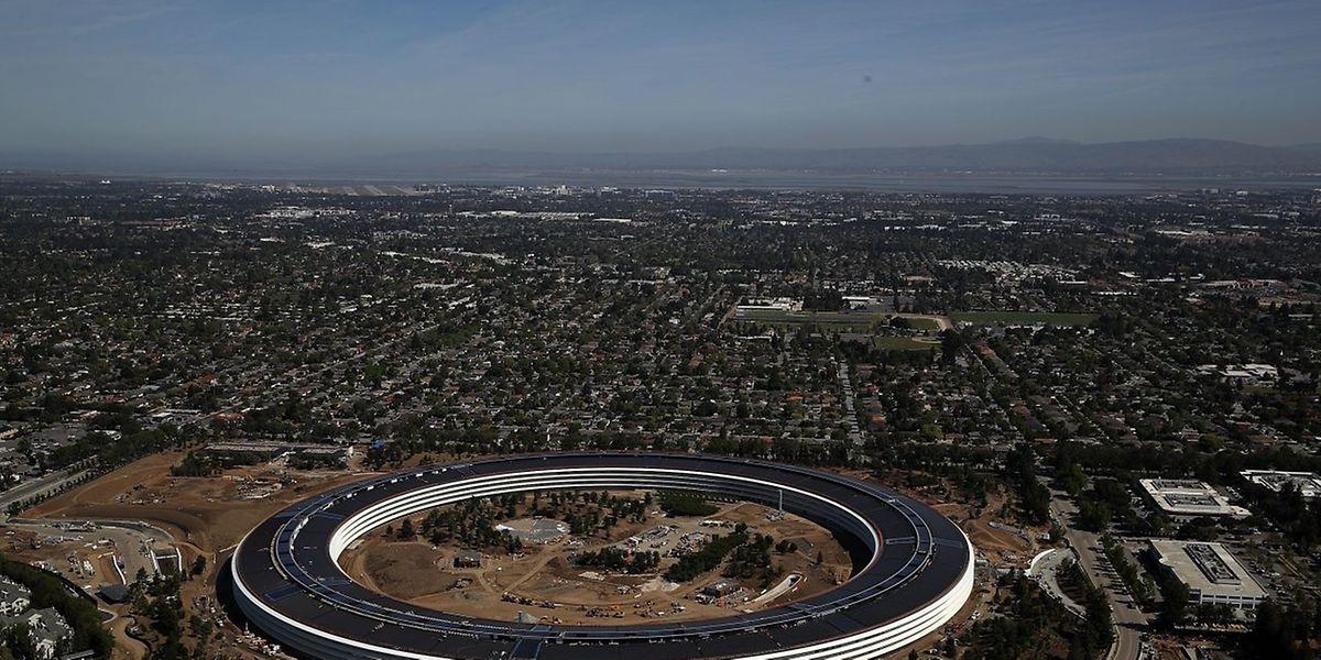 In Cupertino hat Apple seine neue, ringförmige Firmenzentrale fast fertiggestellt.