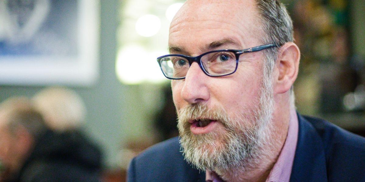Interview Gilles Baum, député DP - Photo : Pierre Matgé