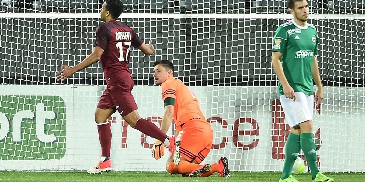 Service minimum pour le FC Metz qui s'est imposé face au Red Star sur un but de Mathieu Dossevi.