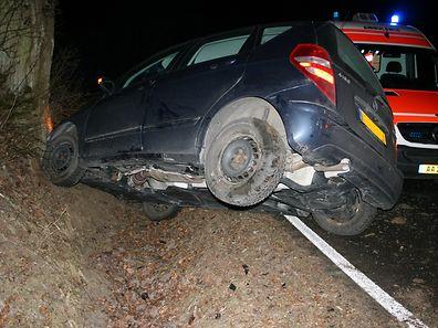 Ein Autofahrer hatte die Kontrolle verloren.