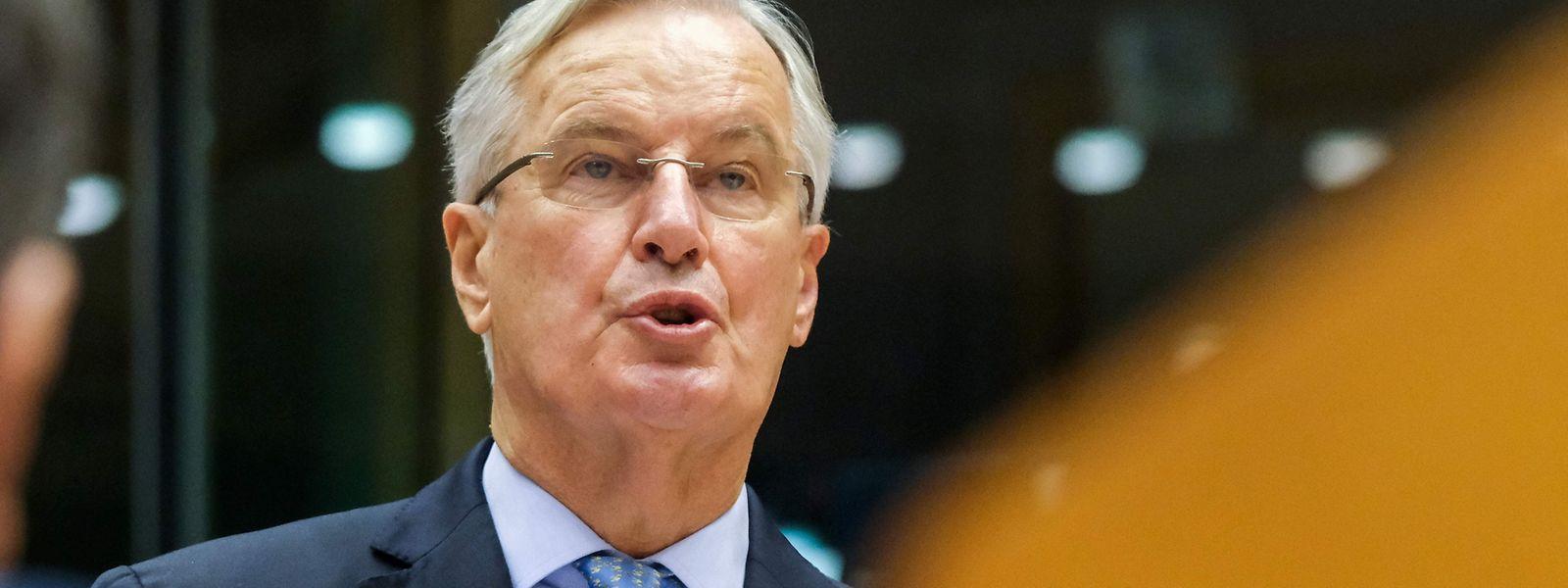 Michel Barnier gibt die Hoffnung auf ein Abkommen nicht auf.