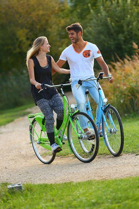 Gemütlich auf Tour: Die bei Cityrädern noch weitverbreitete, wartungsarme Rücktrittbremse ist für sportliche Fahrer nicht gut geeignet.
