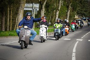 Vespa meeting in Sanem, Luxembourg this year