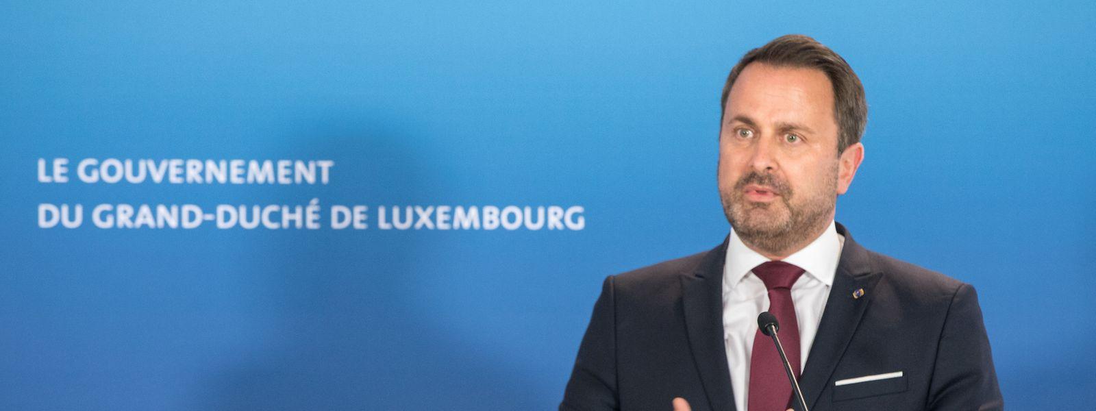 Xavier Bettel annonce qu'il informera ses partenaires européens sur la situation sanitaire au Luxembourg lors du prochain Conseil européen, prévu vendredi et samedi.
