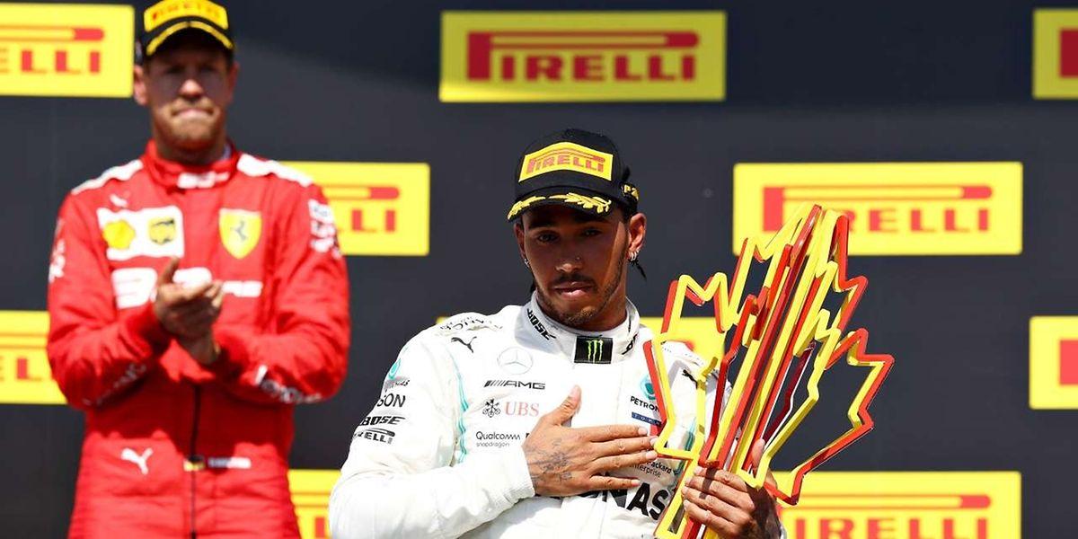 Sebastian Vettel hat den Sieg beim Großen Preis von Kanada verspielt