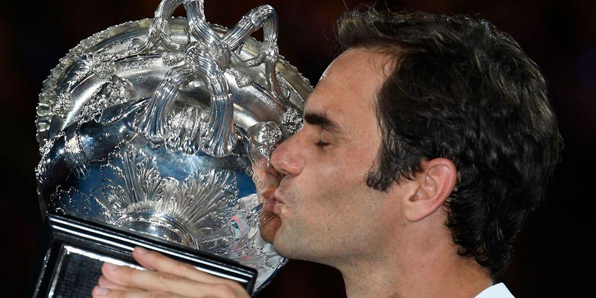Federer conquistou o 20° Grand Slam da carreira