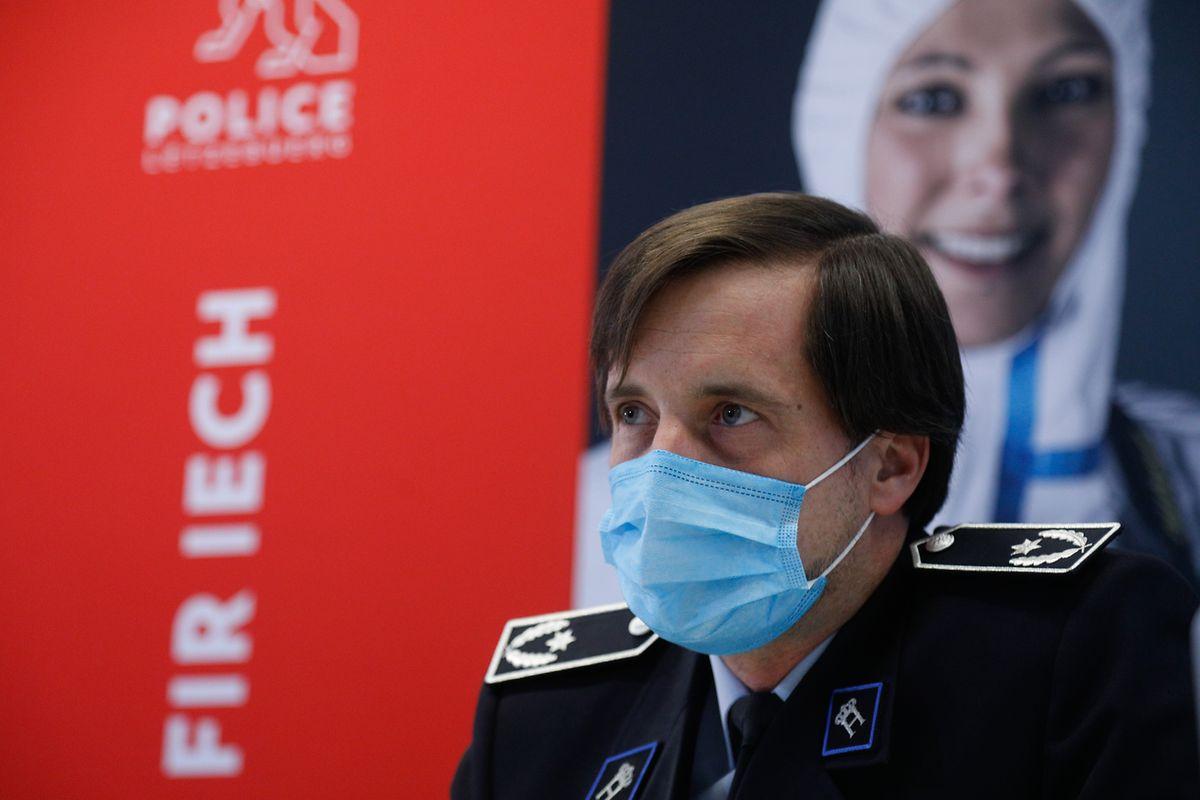"""Alain Engelhardt: """"Es fertigzubringen, die vielen neuen Polizisten zu integrieren und zu begleiten, ist eine Herausforderung, die auf die gesamte Belegschaft der aktuellen Polizei zukommen wird."""""""