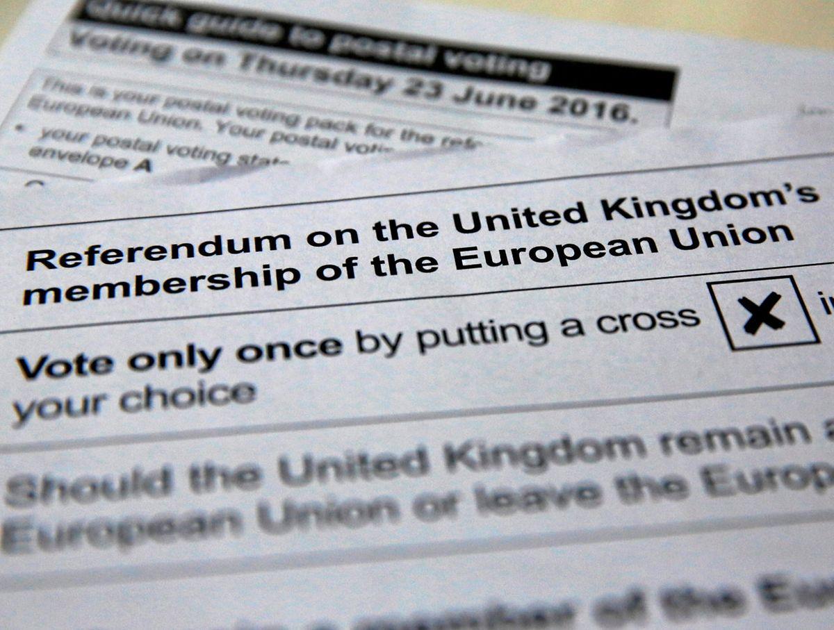 Der Fragebogen für das Referendum wird derzeit den Briefwählern zugestellt.