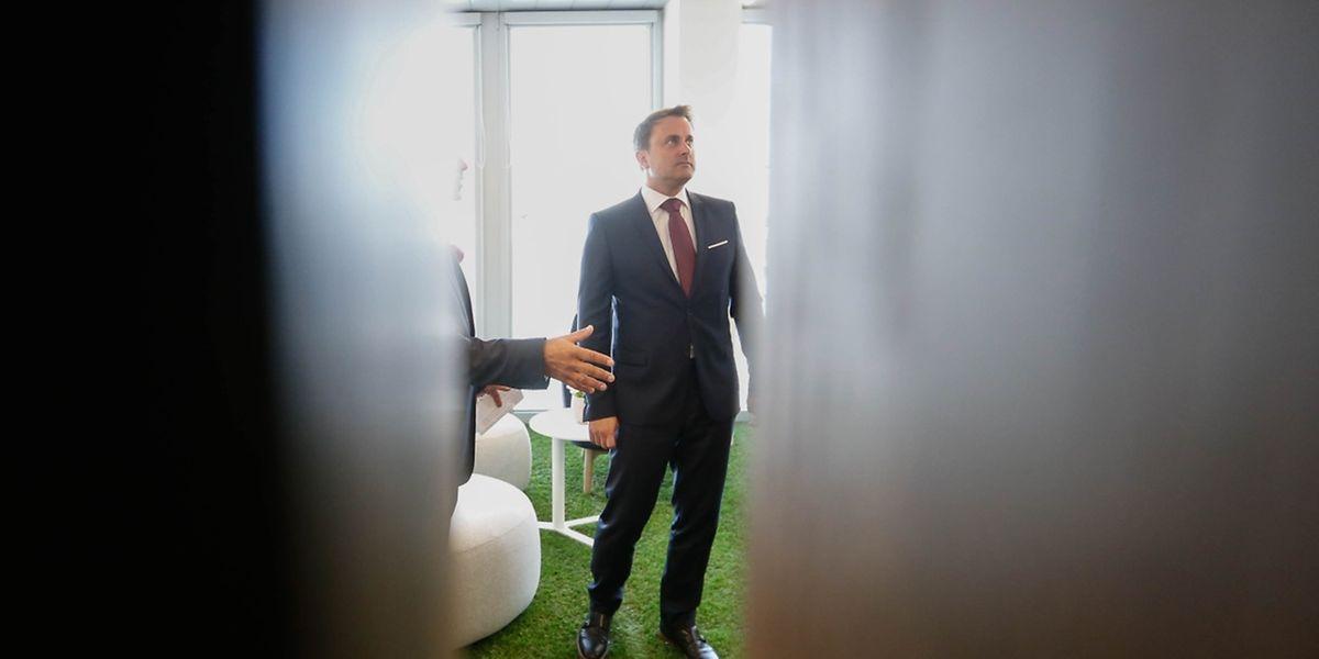 Xavier Bettel vergangene Woche bei der Einweihung vom Innovationszentrum Tomorrow Street. Seit Anfang dieser Woche ist der Premier in den USA unterwegs.