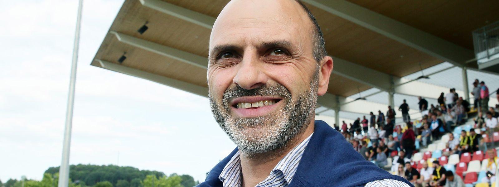 """Fabio Marochi: """"Von der Papierform her haben wir eine bessere Mannschaft als Differdingen.""""."""""""