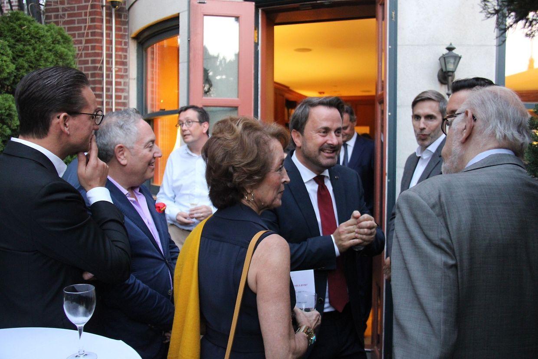 """Xavier Bettel traf sich am Mittwoch mit luxemburgischen """"Expats"""" in New York."""