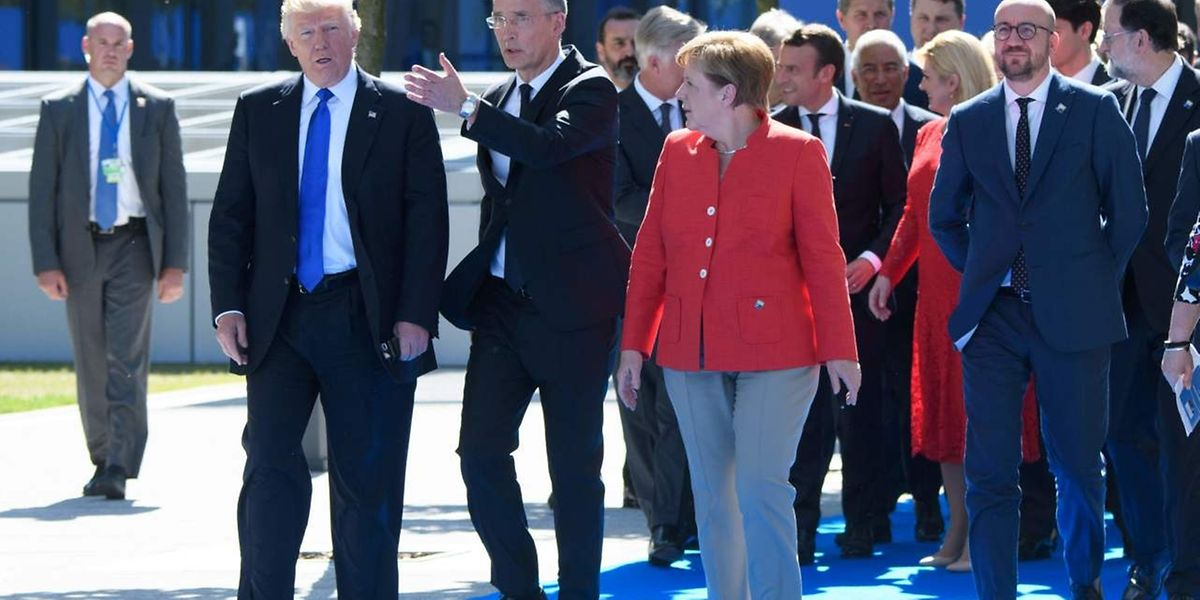 Ernüchterung nach dem Treffen der Bündnis-Nato-Partner in Brüssel am 25. Mai