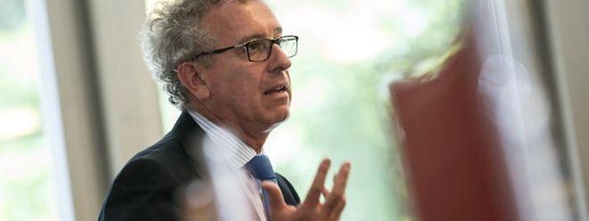 Finanzminister Pierre Gramegna will besonders bei der Steuerprogression ansetzen, um die Mittelschicht zu entlasten..