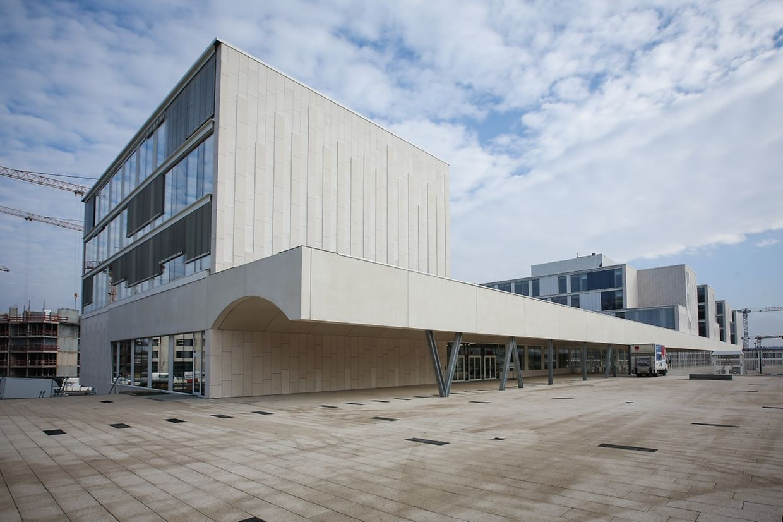 Das Atelier d'architecture du Centre in Mersch und das Büro Beaudouin Architecte in Nancy haben das architektonische Konzept entworfen.