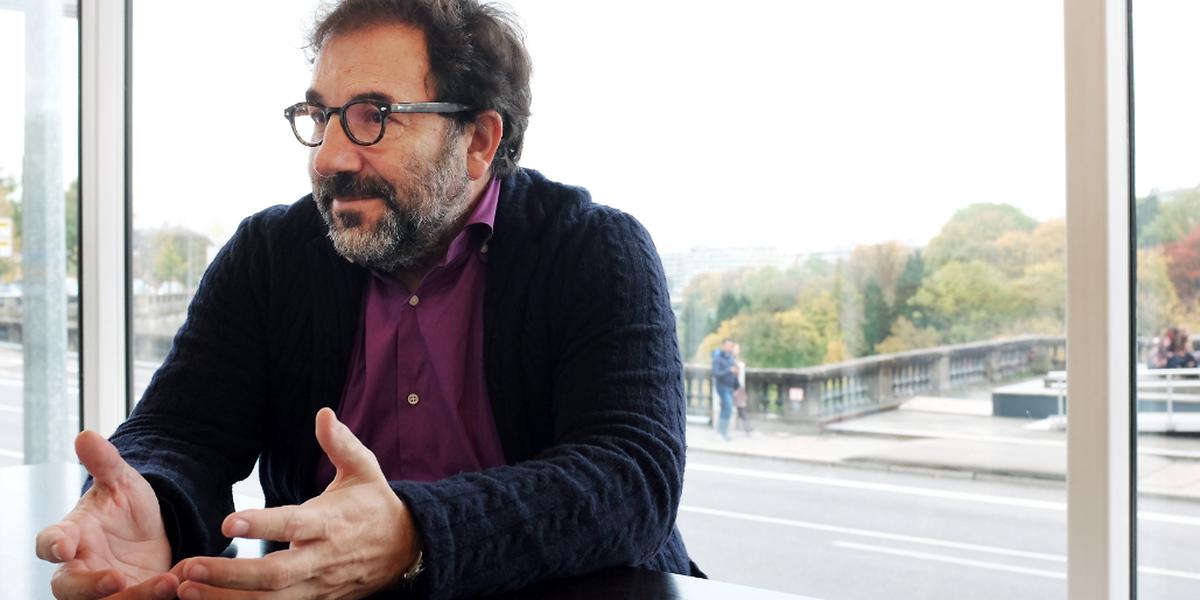 """O criador da marca """"Porto ponto"""" está no Luxemburgo desde quinta-feira para trabalhar na imagem do Centro Cultural Português"""