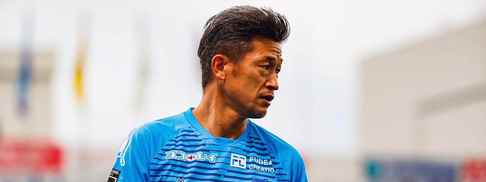 Kazuyoshi Miura spielt seit 2005 in Yokohama.