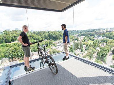 L'ascenseur panoramique du Pfaffenthal est fermé jusqu'à samedi pour un problème de transmission de données.