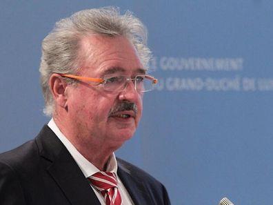 """""""Ich brauche hier keine Lektionen"""": Außenminister Jean Asselborn verteidigt sich und seine Position in der europäischen Flüchtlingspolitik."""