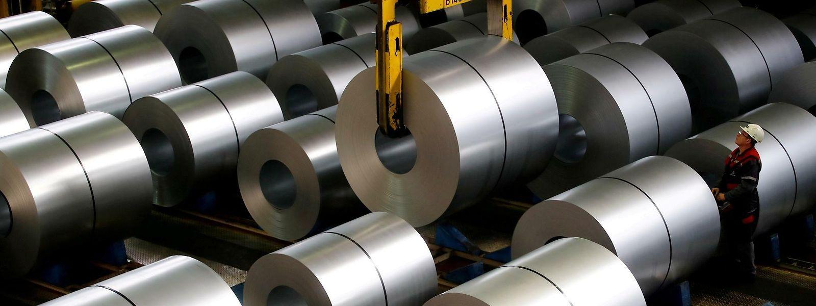 Selon l'OGBL et le LCGB, l'usine de Dudelange fonctionnerait pour l'heure «entre 25 et 50%» de ses capacités et son avenir s'annonce compliqué.