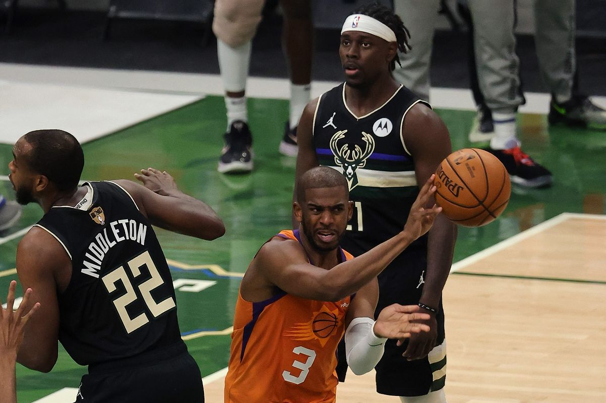 Chris Paul kann die Niederlage der Suns nicht verhindern.