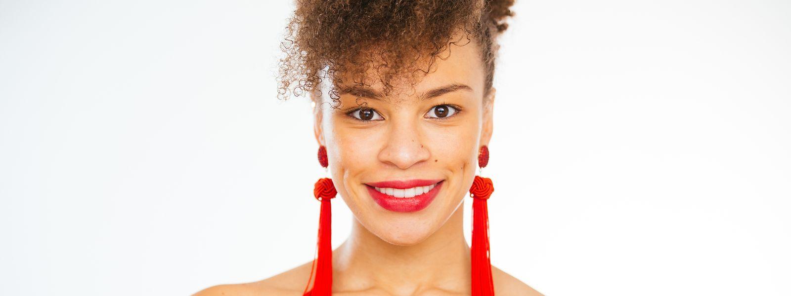 Janine Duarte Neves hofft darauf, als Model durchstarten zu können.