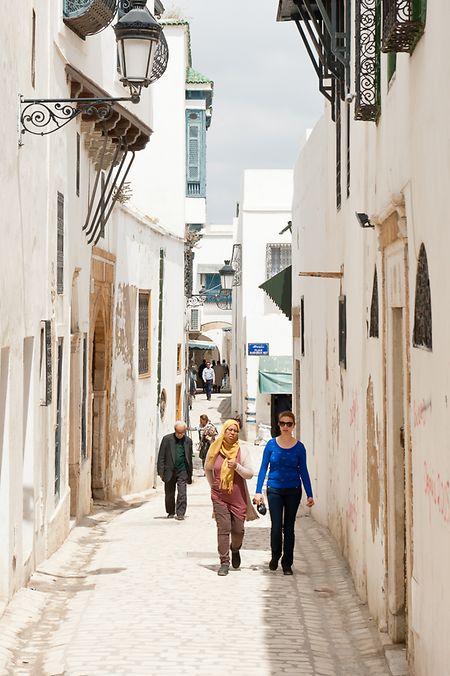 La médina de Tunis est classée patrimoine mondial de l'Unesco.