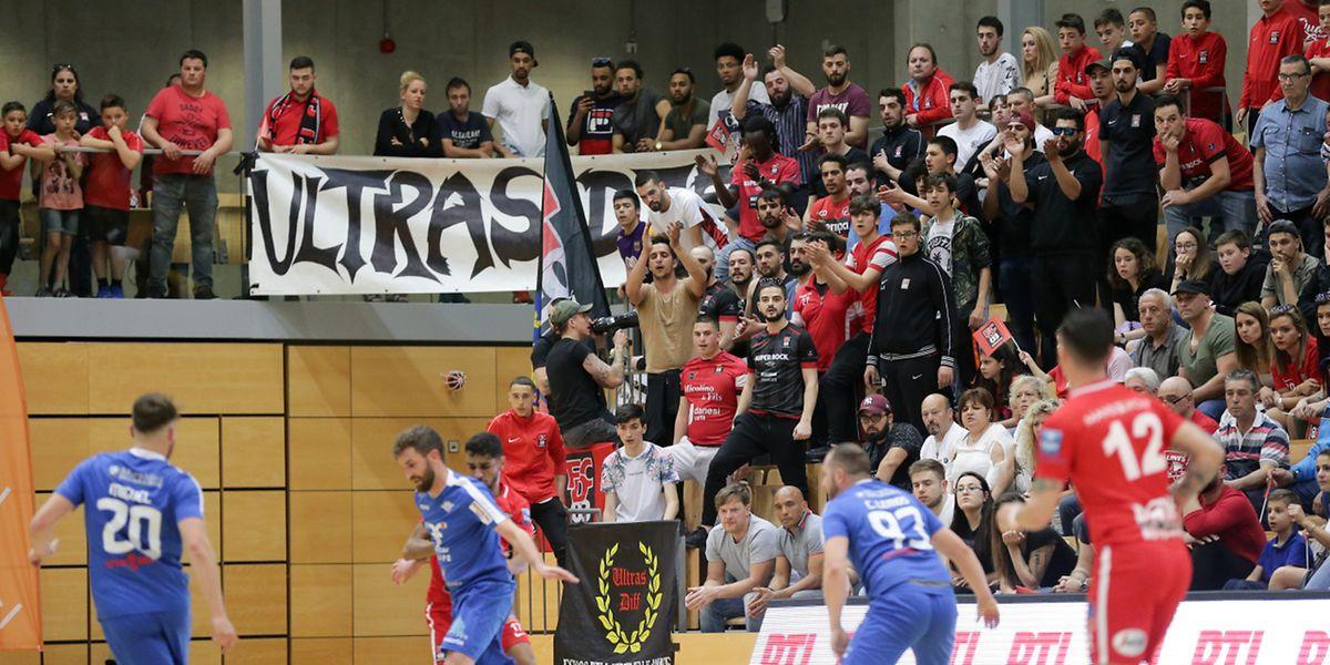 Les supporters differdangeois avaient eu un comportement exemplaire en finale de la Coupe. Certains individus ont gâché la fête à Oberkorn.
