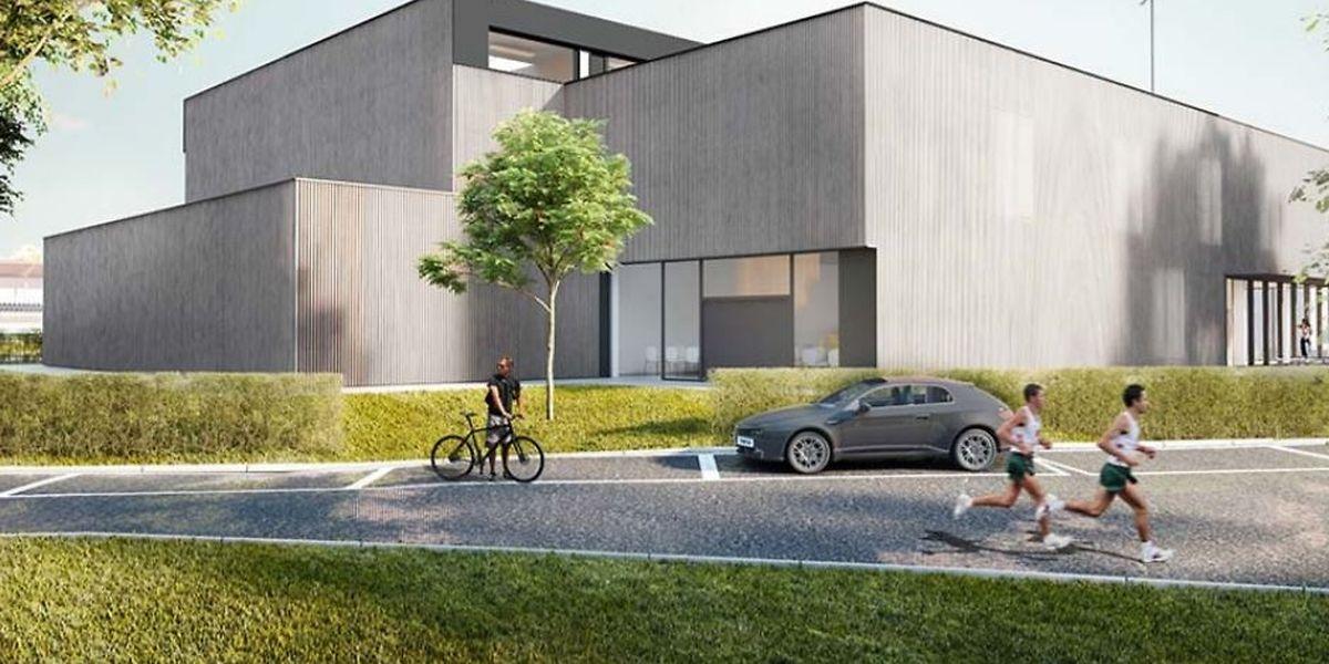 Der geplante Gebäudekomplex auf dem Gelände des nationalen Sportinstituts wird über eine Gesamtfläche von 1400 Quadratmetern verfügen und soll 5,35 Millionen Euro kosten.