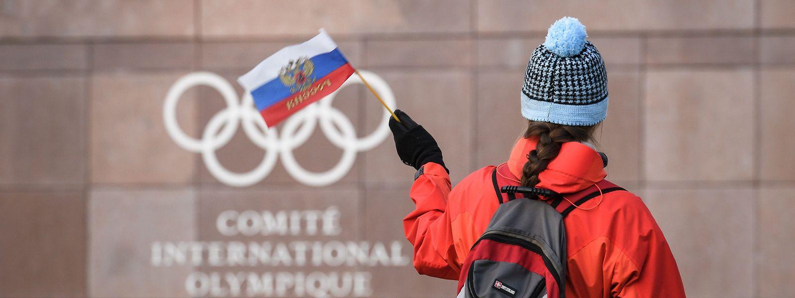 Le drapeau russe ne flottera pas sur les JO de Tokyo 2020, ni sur ceux de Pékin 2022. L'AMA a décidé de suspendre la Russie pendant quatre ans suite à sa récidive en matière de triche et de falsification des données de contrôles.