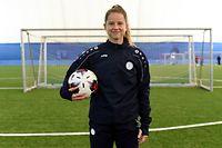Kim Olafsson. Football: Entraînement de l'équipe nationale dames. FLF, Mondercange. foto : Stéphane Guillaume