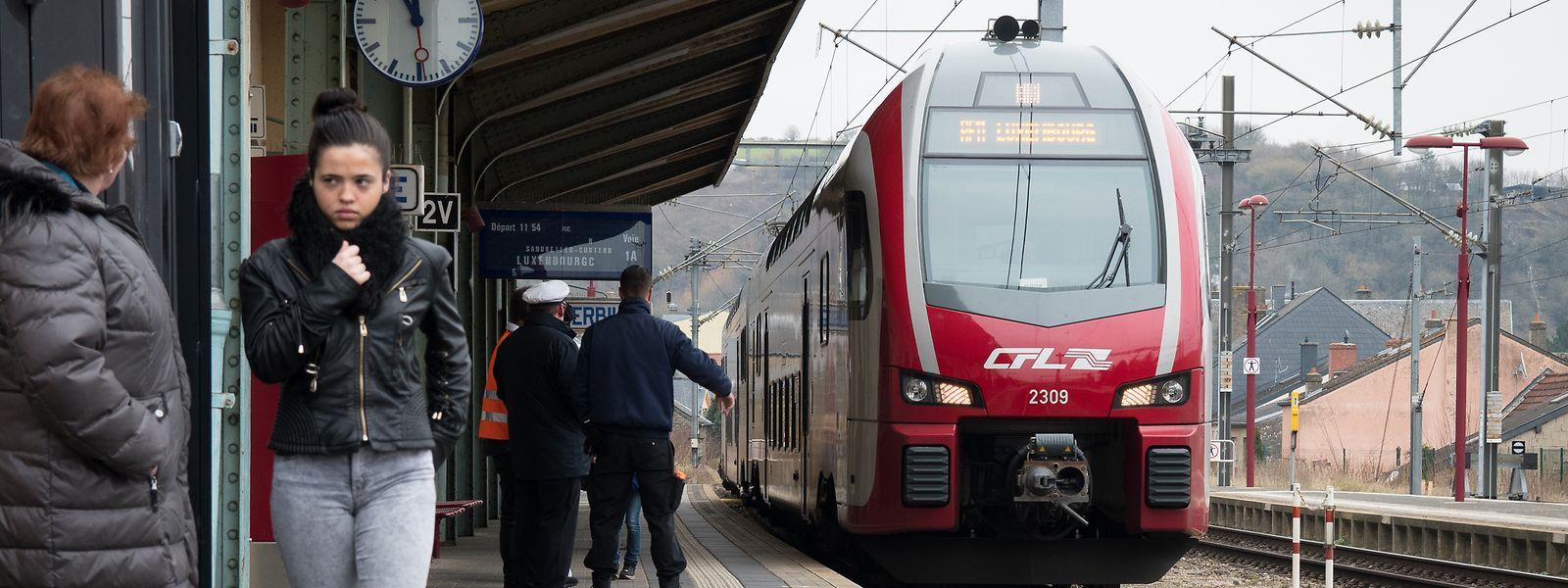 Vergangenes Jahr fuhren 23,3 Millionen Menschen mit dem Zug.