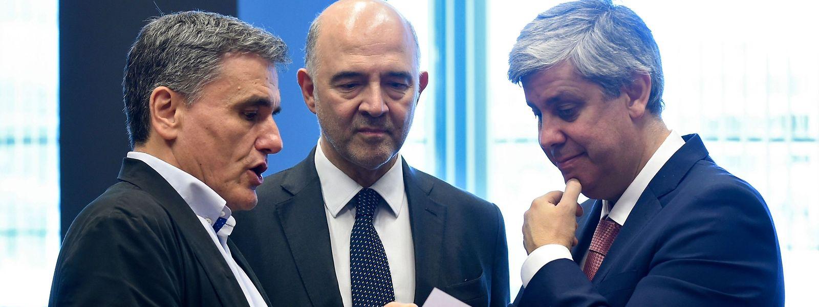 O Eurgrupo chegou a acordo durante esta madrugada sobre o fim do resgate à Grécia.