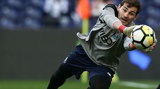 Iker Casillas regressou à titularidade com uma goleada frente ao Rio Ave