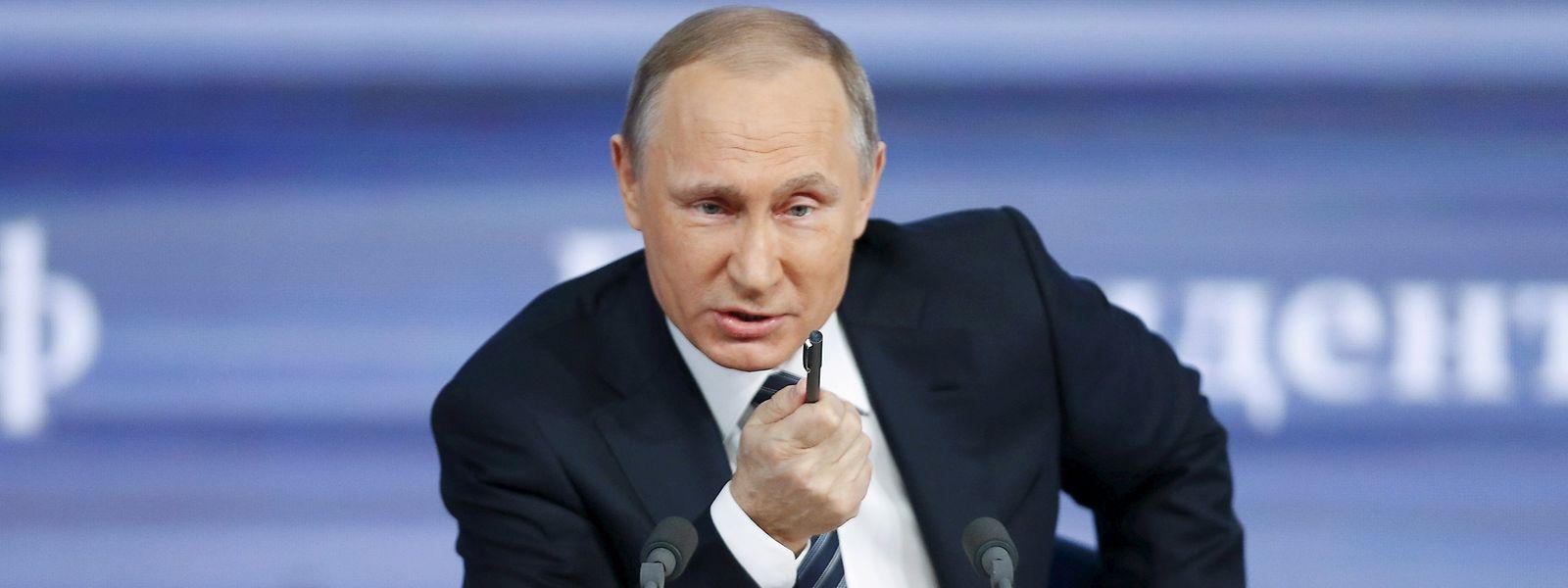 Russlands Präsident Wladimir Putin ist die Türkei zurzeit ein Dorn im Auge.