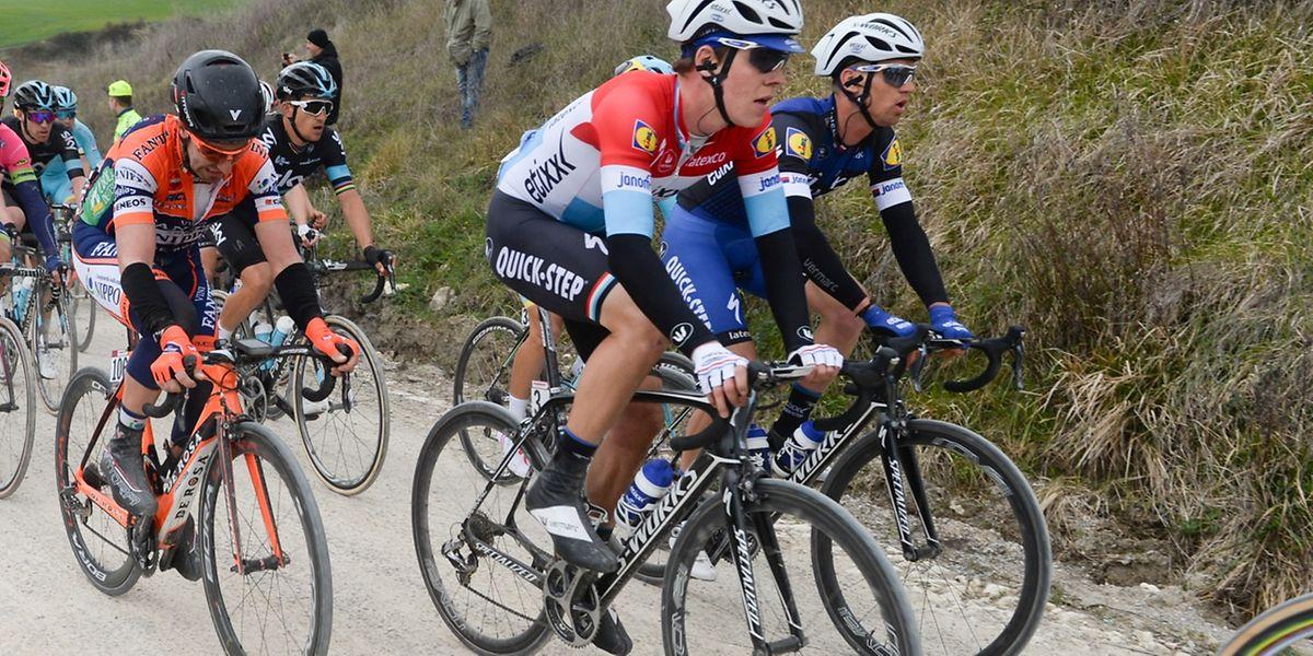 """Bob Jungels espère briller sur Tirreno. """"J'aimerais signer un bon classement, que ce soit sur une étape ou le général"""", dit-il."""