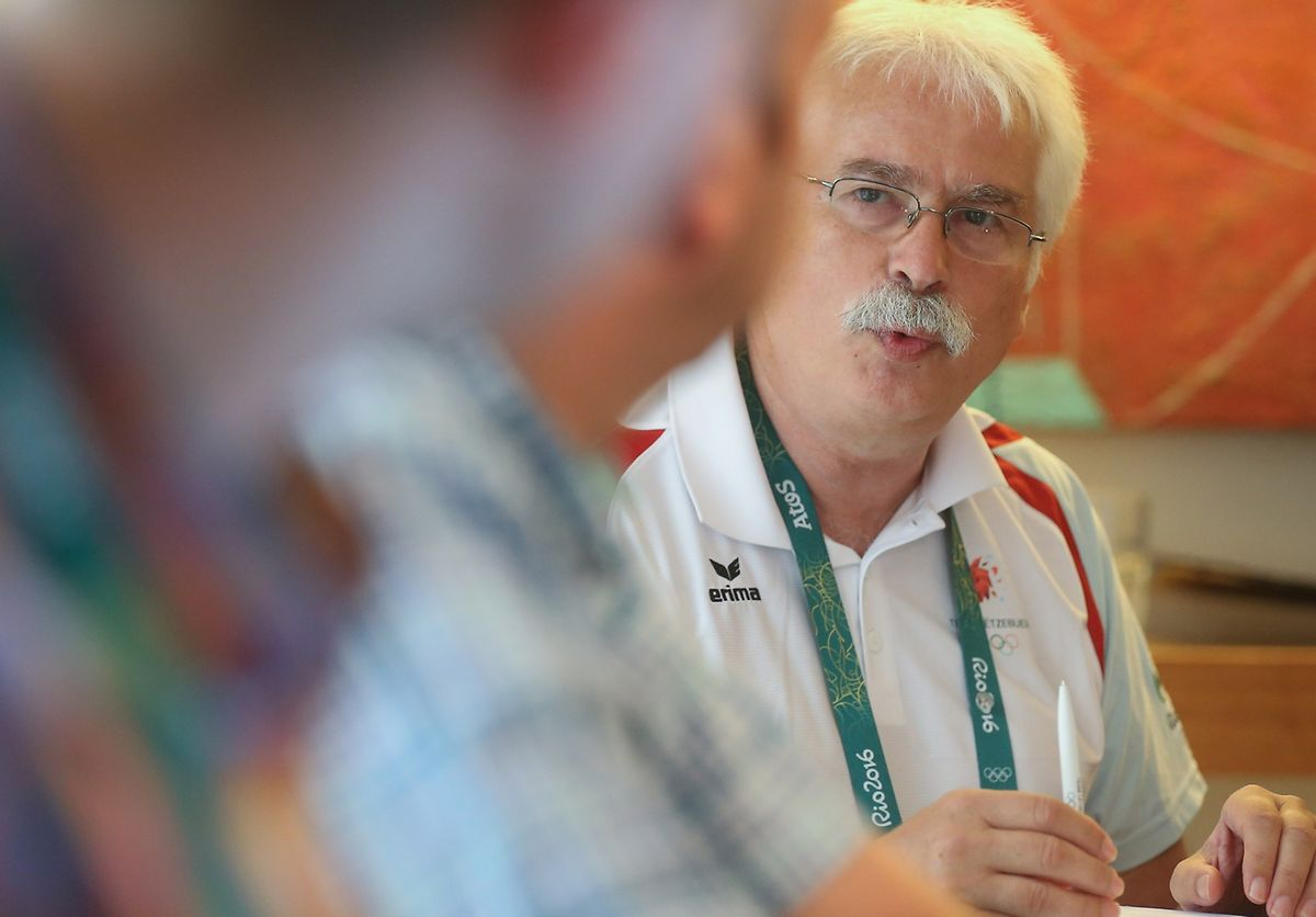 """Missionschef des COSL Heinz Thews : """"Wir haben gute Leistungen unserer Athleten gesehen."""""""